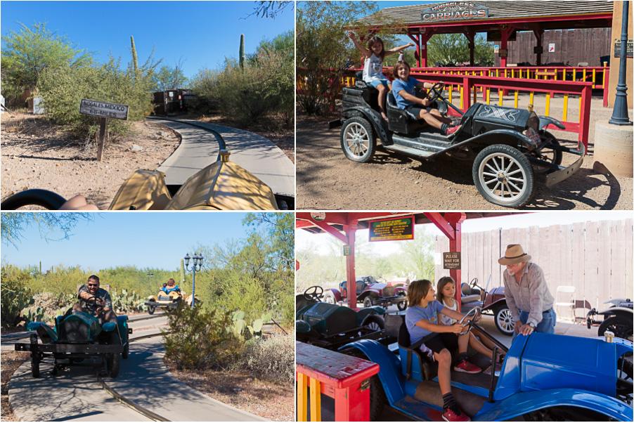 Drive an antique car ride
