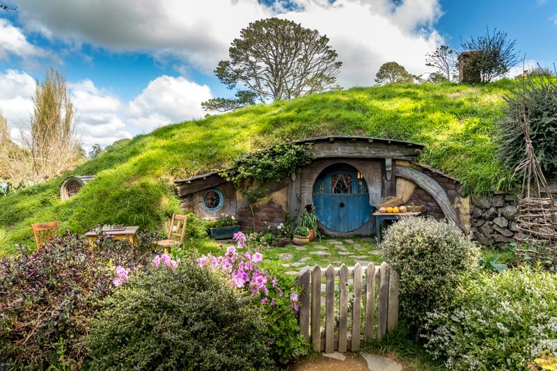 Hobbiton in Matamata (North Island, New Zealand)