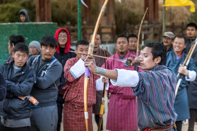 Archery competition - Thimphu