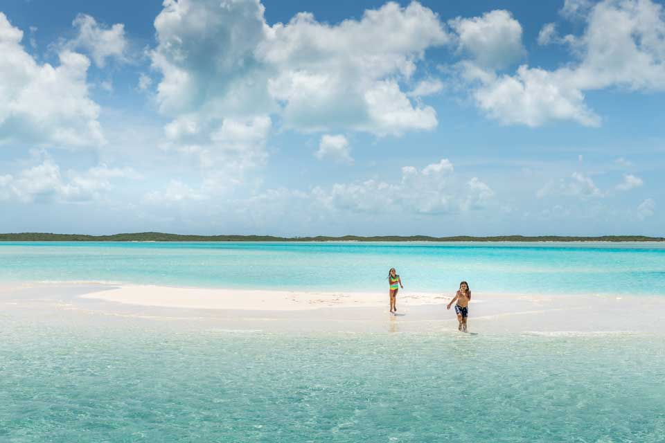 Our sandbar in the middle of the sea!