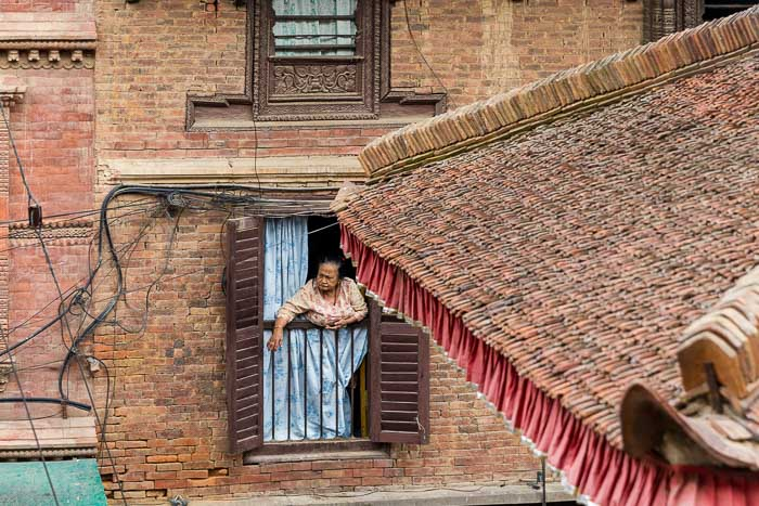 Our neighbor in Patan